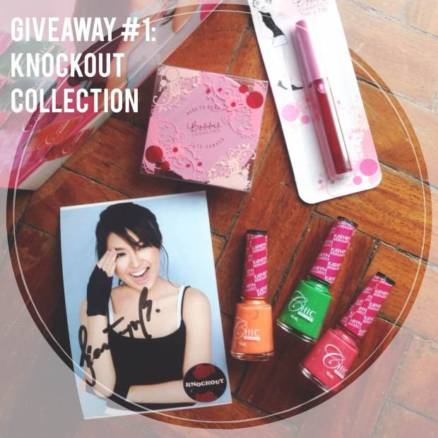 Chic Nail Color Giveaway Promo Kathryn Bernardo 1